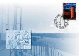 Latvia Lettland Lettonie 2019 (04) Lighthouses Of Latvia - Slitere (unaddressed FDC) - Lettland