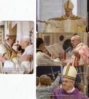 *VATICANO: 1^ Emissione 2016 - Numeri GDM001 / GDM004* - Schede NUOVE (MINT) In Folder - Vatican