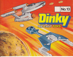 KAT222 Modellkatalog DINKY Die Cast Toys No. 13, 1977 - Literature & DVD