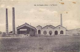 -dpts Div.-ref-AG286- Allier - Saint Yorre - St Yorre - La Verrerie - Verreries - Usine - Usines - Industrie - - France