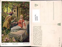 600089,Künstler Ak Otto Kubel Dornröschen Grimm Märchen - Märchen, Sagen & Legenden