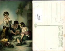 600086,Künstler Ak B. E. Murillo Die Würfelspieler Spiele Kinder Würfeln Würfelspiel - Spielzeug & Spiele