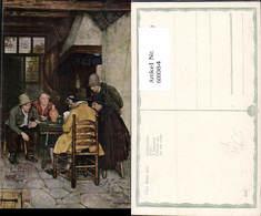 600084,Künstler Ak Claus Meyer Kartenspieler Spiele Männer Wein - Spielzeug & Spiele