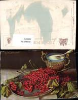 600072,Künstler Ak Fritz Hildebrandt Stillleben Ribiseln Beeren Obst Früchte Pub Raph - Recettes (cuisine)