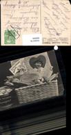 600069,Essen Trinken Korb M. Wurst Apfel Schinken Feinste Delicaless Rollmopse Reklam - Recettes (cuisine)