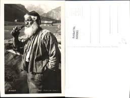600065,Foto Ak Rauchen Senner Pfeife Rauchend Pub Risch-Lau 3667 - Ansichtskarten