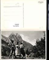 600062,Foto Ak Brauchtum Werdenfelser Schuhplattler Tanzen Mittenwald Tracht - Ansichtskarten