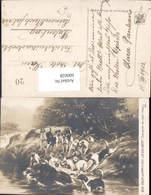 600028,Künstler Ak J. B. Gelibert Sanglier Au Bat-l Eau Wildschwein Hunde Jagd - Jagd