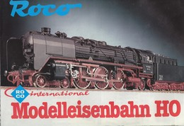 KAT225 Modellkatalog ROCO Modelleisenbahn H0, Plakat Im A1-Format - Littérature & DVD