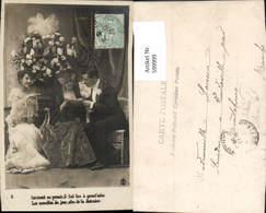 599999,Lesen Mann M. Frauen Zeitung - Ansichtskarten
