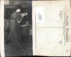 599994,Künstler Ak Marguerite Klee La Fin Du Livre Frau Buch Lesen - Ansichtskarten