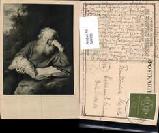599991,Künstler Ak Salomon Koninck Der Einsiedler Lesen Alter Mann Buch - Ansichtskarten