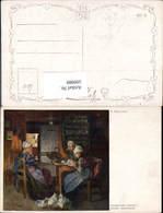 599989,Künstler Ak E. Duxa Interessante Lektüre Frauen Lesen Tracht - Ansichtskarten