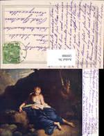 599988,Künstler Ak Paul Troger Die Heilige Magdalena Frau Buch Lesen Erotik - Ansichtskarten
