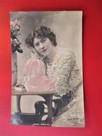 Actrice JANE HADING Jeanne Alfredine TREFOURET Née Marseille 1859 - Cliche BOYER - Raphael TUCK - Artisti