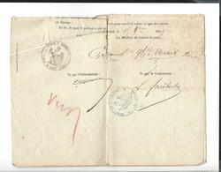 LOUIS FAIDHERBE 1818 - 1889 Signature Autographe Sénégal Et Dépendances Santé - Renvoi D'un Marin En France 1859 - Autographs