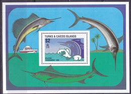 Iles TURQUES ET CAIQUES,   Bloc N°75 , 1988,cote 9€ , Espadon ( W1903/104) - Turks & Caicos (I. Turques Et Caïques)
