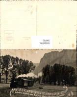 599762,Eisenbahn Dampflok Zwischen Salzburg U. Bad Ischl Notenzeile - Eisenbahnen