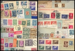 BELGIUM. 1930-59. Selection Of 27 Better Fkg Multiples / Reg Express. All Excellent Condition And VF. Collectors Choice. - Belgium