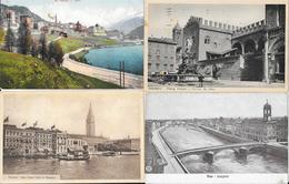 Lot N° 88 De 100 Cartes D'Italie (CPA Et CPSM): Firenze, Roma, Bellagio, Venezia, Como, Aosta, Padova... - 100 - 499 Cartes