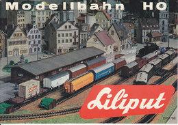 KAT230 Modellkatalog Liliput H0, 1967/68, Deutsch, Neu - Literature & DVD