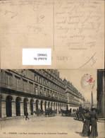 599685,Kutsche Paris La Rue Castiglione Et La Colonne Vendome - Taxi & Carrozzelle