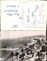 599610,Foto Ak Schiff Hochseeschiff Nice Nizza La Promenade Des Anglais Bus - Handel