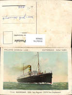 599608,Schiff Hochseeschiff T.S.S. Noordam Holland-America Line Rotterdam New York - Handel