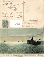 599607,Schiff Hochseeschiff Dampfer En Rade - Handel