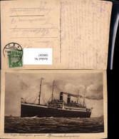599597,Schiff Hochseeschiff S. S. Georg Washington Dampfer - Handel