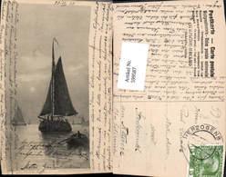 599587,Künstler Ak G. S. Walters Segelschiff Segelboot Stempel Herzogenburg - Segelboote