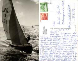 599580,Foto Ak Segelschiff Segelboot Segeln Üdvözlet A Balatonröl - Segelboote