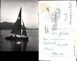 599575,Foto Ak Segelschiff Segelboot Am Klopeiner See Kärnten - Segelboote
