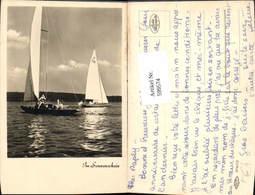 599574,Foto Ak Segelschiff Segelboote Im Sonnenschein - Segelboote