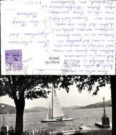 599558,Foto Ak Segelschiff Segelboot Segeln Velden A. Wörthersee - Segelboote