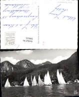 599555,Foto Ak Segelsport In St Gilgen A. Wolfgangsee Segeln Segelschiff Pub Cosy 819 - Segelboote
