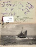 599552,Trouville Grosse Mer Segelboot Segelschiff - Segelboote