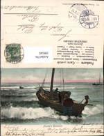 599545,Segelschiff Segelboot Fischers Heimkehr Fischen - Segelboote