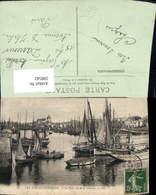 599542,Les Sables-D Olonne Le Port Vu De La Chaume Segelschiffe Hafen - Segelboote