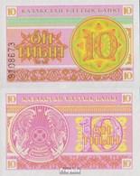 Kazakhstan Pick-no: 4a  1993 10 Tyin - Kazakhstan