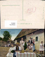 599472,Huedin Banffyhunyadi Esalad Bauernfamilie Tracht Siebenbürgen Cluj - Rumänien