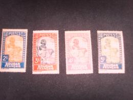 4 Timbres Du Soudan Francais - Soudan (1954-...)