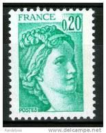 N° 1967b**_gomme Tropicale Mate - 1977-81 Sabine (Gandon)