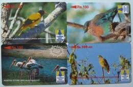 SRI LANKA - GPT - Group Of 4 - 25SRLA, 33SRLD, 35SRLB & 37SRLD - Rs 100 - Used - Sri Lanka (Ceylon)