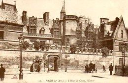 Paris 05 : L'entrée De L'Hôtel De Cluny (Musée Du Moyen Age) - Arrondissement: 05