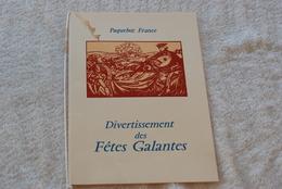 PAQUEBOT FRANCE PROGRAMME DES FETES GALANTES AVRIL 1971 - Bateaux
