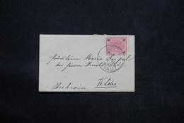 AUTRICHE - Enveloppe De Asch Pour Veldes En 1891 - L 25174 - 1850-1918 Empire