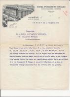 TRADUCTION  DE LA  LETTRE   DE  L AUMONIER  MILITAIRE      TORGAU - Documents