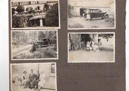 Saint Nectaire. Le Viginet. 10 Photos De Famille. 1934. - Saint Nectaire