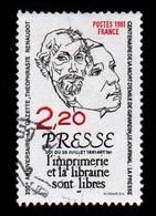 France - N° 2143 - Portraits T.Renaudot - 1981 (recto Voir Scan) - France